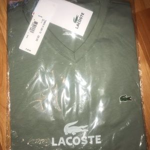 Lacoste bundle of t-shirts (4 shirts 49.50 each)